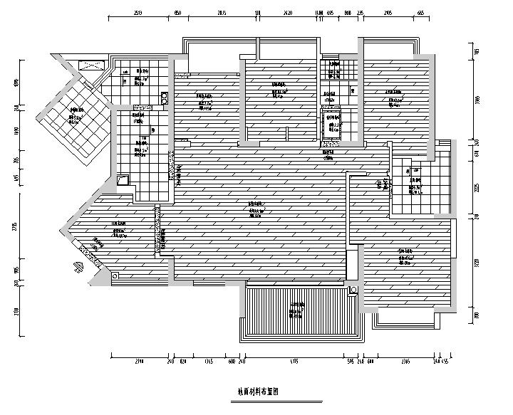 【四川】新中式美式混搭风格样板房设计施工图(附效果图)_1