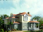 二层别墅建筑设计方案文本(包含效果图+CAD)