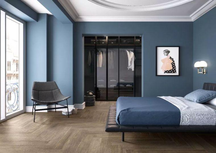 为什么越来越多的高档卧室,都会选择铺瓷砖?