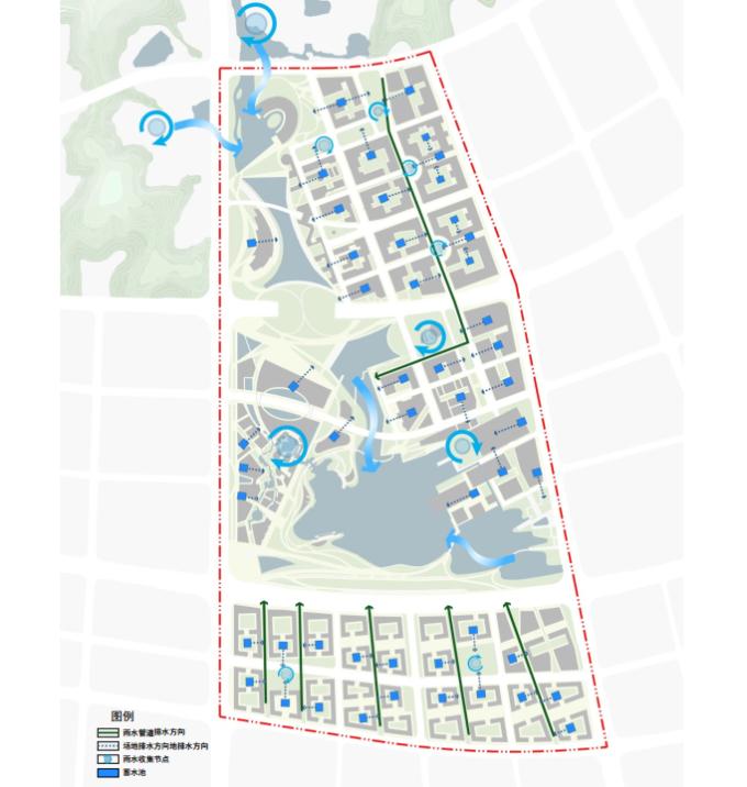 [江苏]滨江现代低碳示范区山水田园城市规划景观设计方案_12