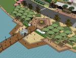 某公园精SU模型