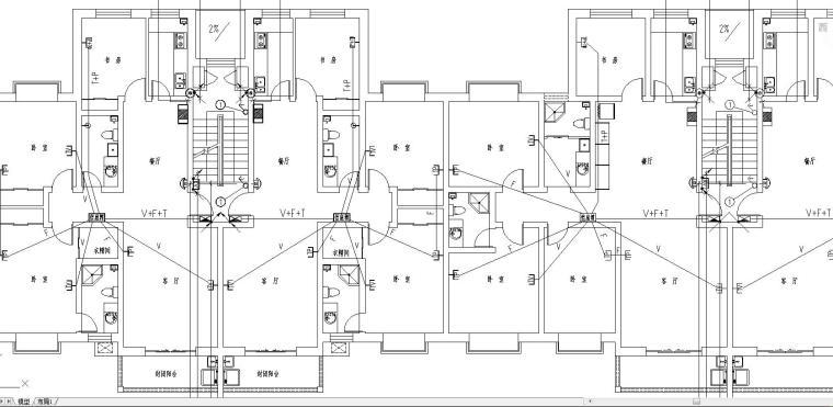 某商住宅楼电气施工图