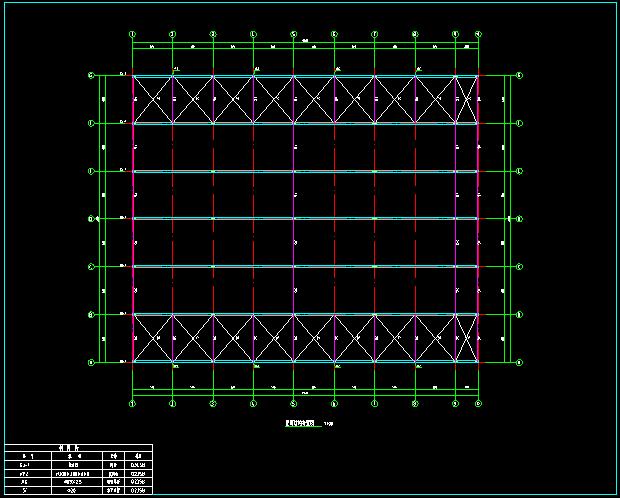 门式刚架带夹层结构二层厂房建筑结构施工图_6