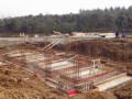 小型排涝站施工分缝及止水埋件施工
