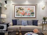 客厅墙壁挂画 有花鸟画就够了