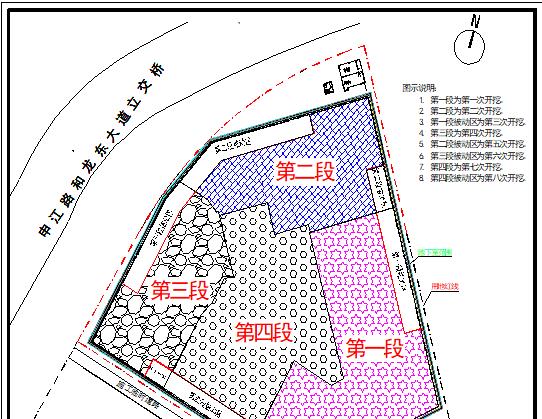 张江集电港四期西块新建项目下部结构施工组织设计