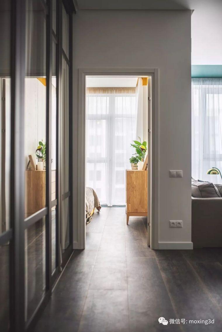 色彩灵动的北欧简约公寓,无可挑剔的美_13