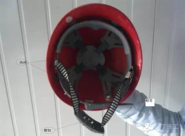 施工安全,從頭做起,正確佩戴安全帽的方法_2