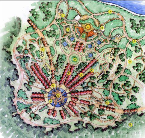 [成都]文化公园景观规划方案