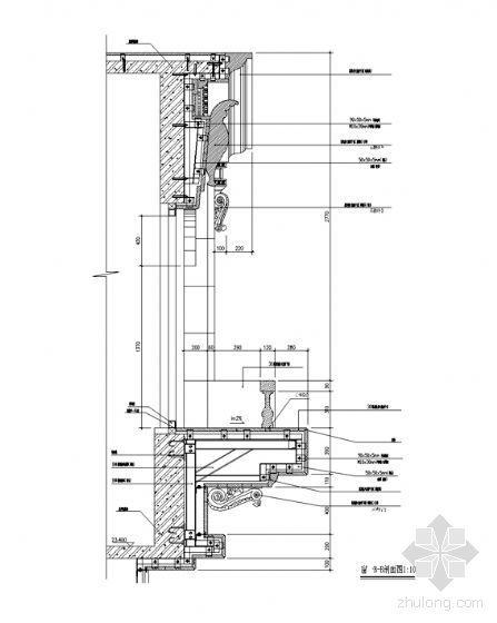 欧式建筑窗详图