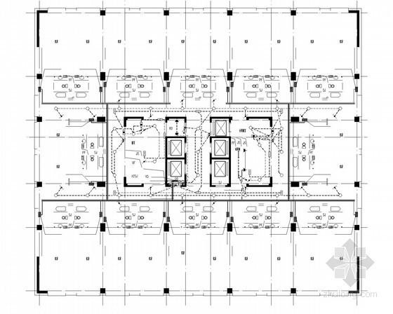 [贵州]高层酒店式公寓强弱电全套图纸(知名综合项目)