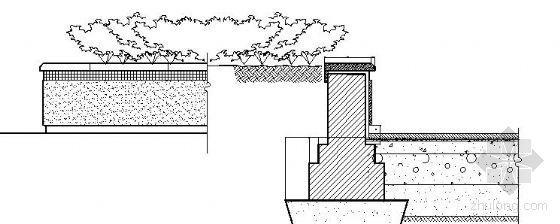 四种树池种植池做法详图
