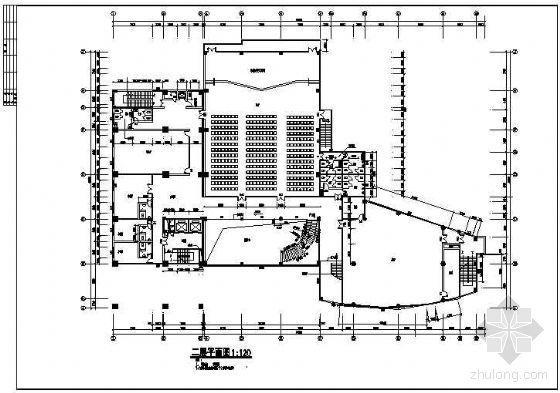 一个四星级酒店建筑施工竣工图
