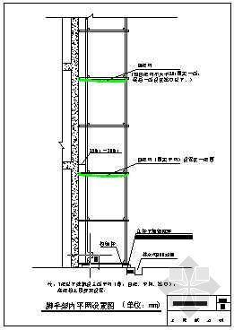 脚手架内平网设置图(青岛某公司-15)