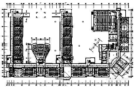 [五河]中学四层教学楼电气施工图纸