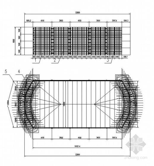新溆高速公路工程某段墩柱模板设计图