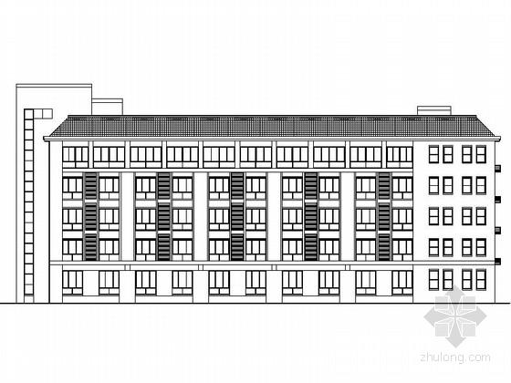 [德州]某儿童福利院五层公寓建筑施工图