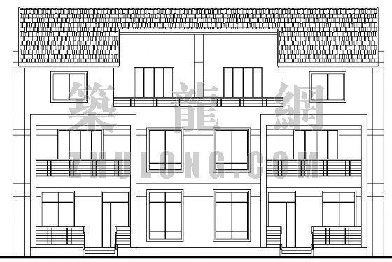 小康农居建筑设计方案4