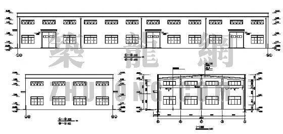 某公司车间钢结构(72.24米*25.24米)