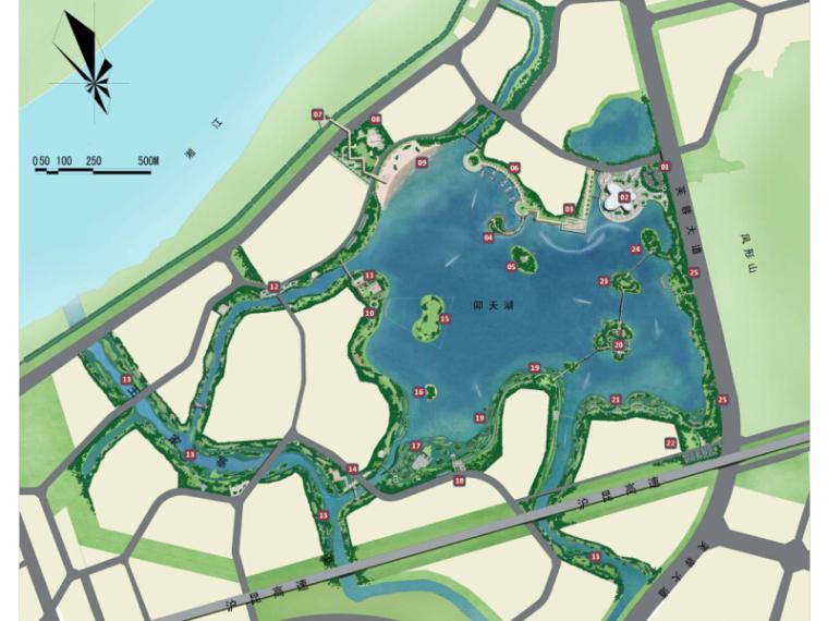 [湖南]生态健康公园湿地景观概念方案设计