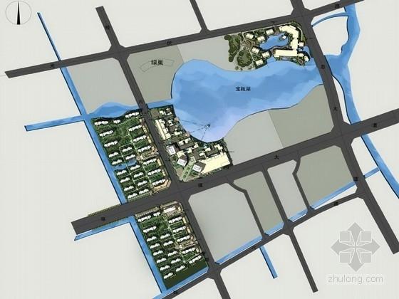 [江苏]精品复合型TBD城市空间景观规划设计方案