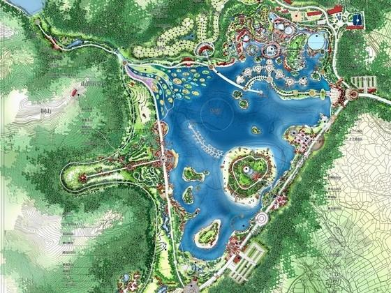 [江西]高档温泉旅游度假区概念性总体规划设计方案