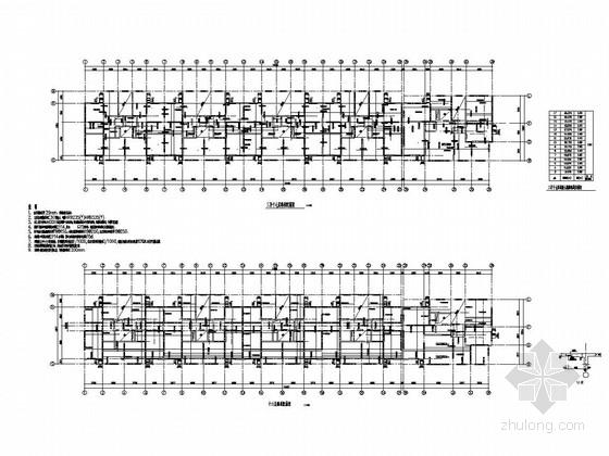[黑龙江]21层剪力墙结构住宅楼结构施工图