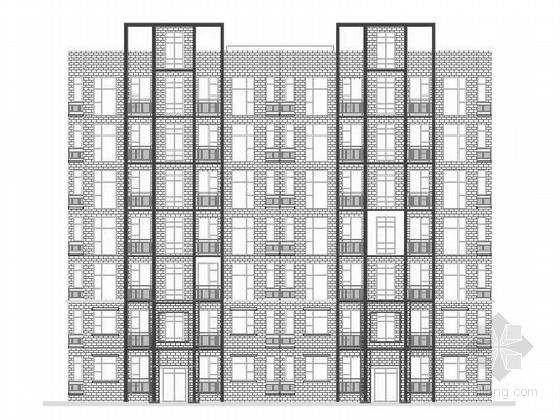 [山东]小高层新中式风格住宅及沿街商业建筑初步设计(知名设计院 含效果图)