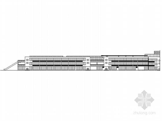 [江西]现代风格三层商住建筑设计方案施工图