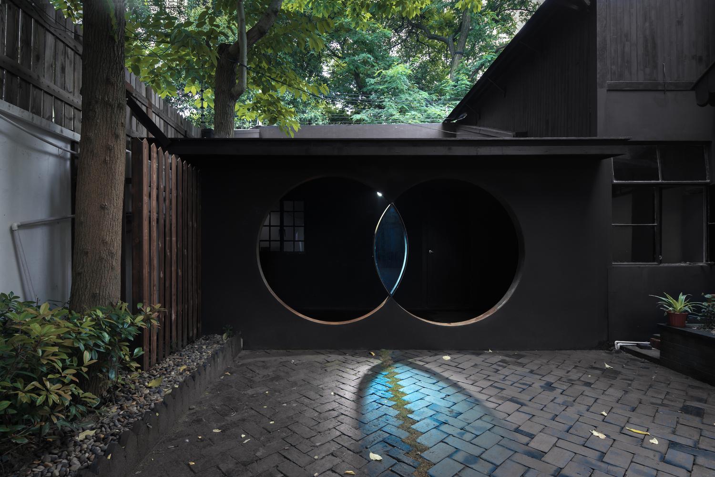 上海国民党时期将领住宅内的眼状棱镜景观