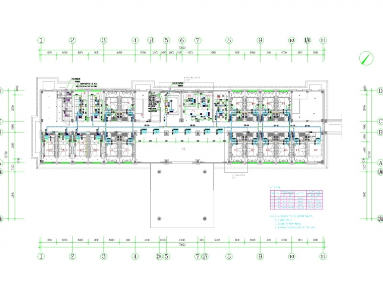 [江西]多层综合楼公共建筑空调通风系统设计施工图