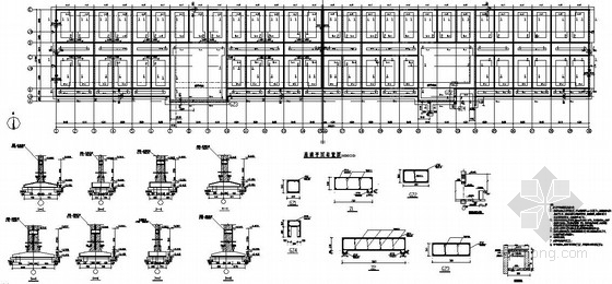 [北京]某二层砌体结构教学楼结构施工图