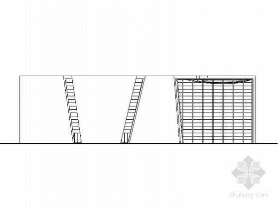 [上海]大型世博会知名博览会展馆建筑施工图(含效果图)