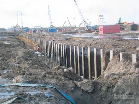 [上海]地铁站基坑开挖围护施工方案(SMW工法)