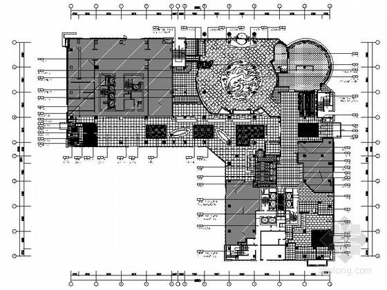 [江苏]中台合资五星大饭店全套设计CAD施工图(含效果)