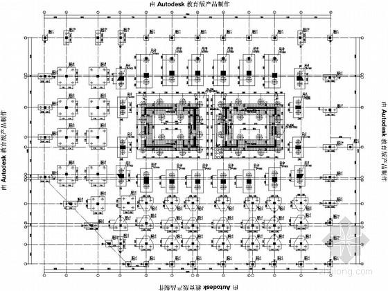 [分享]地下室墙柱模板图纸节点图资料下载5.0招标_上传大样图片