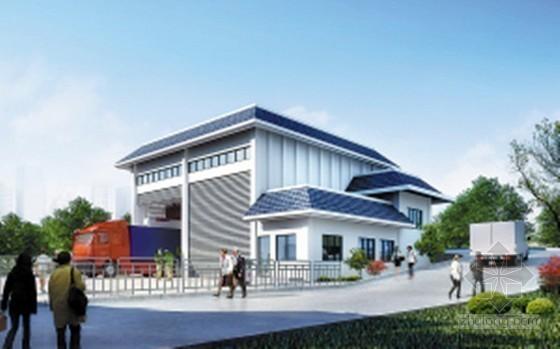 [青岛]2015年固体废弃物转运站绿化工程预算书(图纸 招标文件)