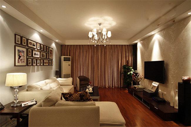 三房两厅九十五平简欧风小户型房子装修案例鉴赏