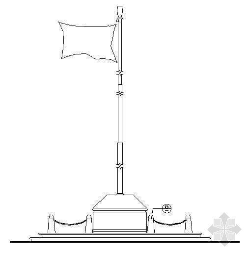旗台施工详图