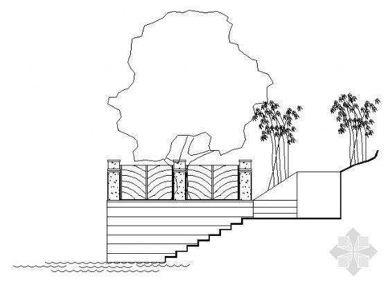 亲水平台结构图