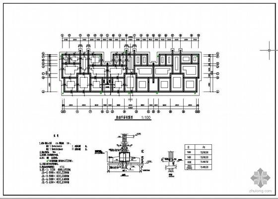 某7层砖混住宅结构图