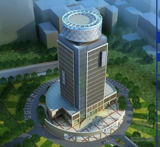 [山东]某十七层企业办公楼方案设计文本(含PPT)