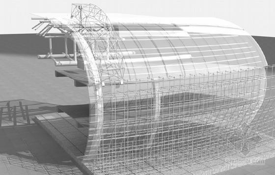 [福建]超大型会议中心工程幕墙施工方案(半隐框玻璃幕墙、全隐框框架式玻璃幕墙)