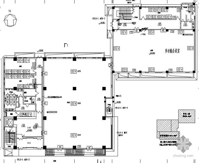某六层办公楼弱电设计方案