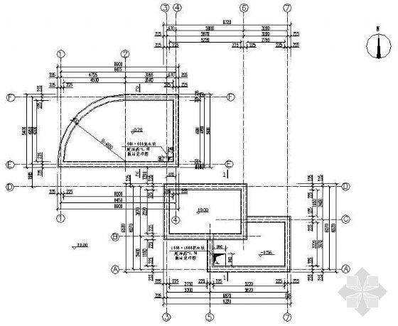 园林水池结构做法详图