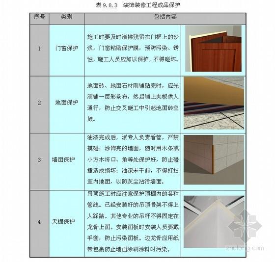 [内蒙古]多功能剧场室内装饰工程施工组织设计