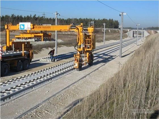 [德国]高速铁路线无碴轨道施工分析ppt(设计特点 经验总结)