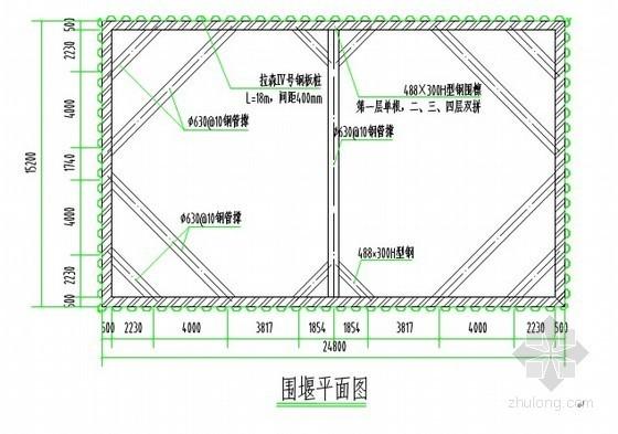 [江苏]钢桁架组合梁大桥钢板桩围堰施工方案