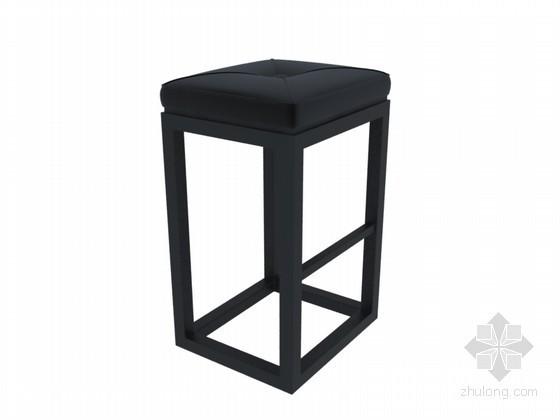 简单椅子3D模型下载