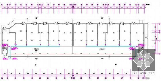 [安徽]三栋小区居民楼建设安装工程预算书(全套图纸软件文件)-首层弱电平面图